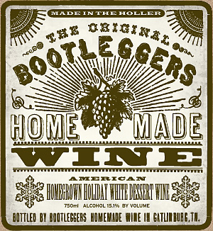 Bootleggers Holiday White Dessert Wine